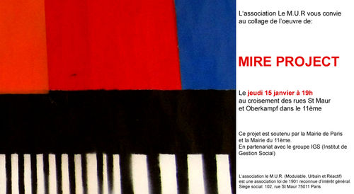 Invitation mire project
