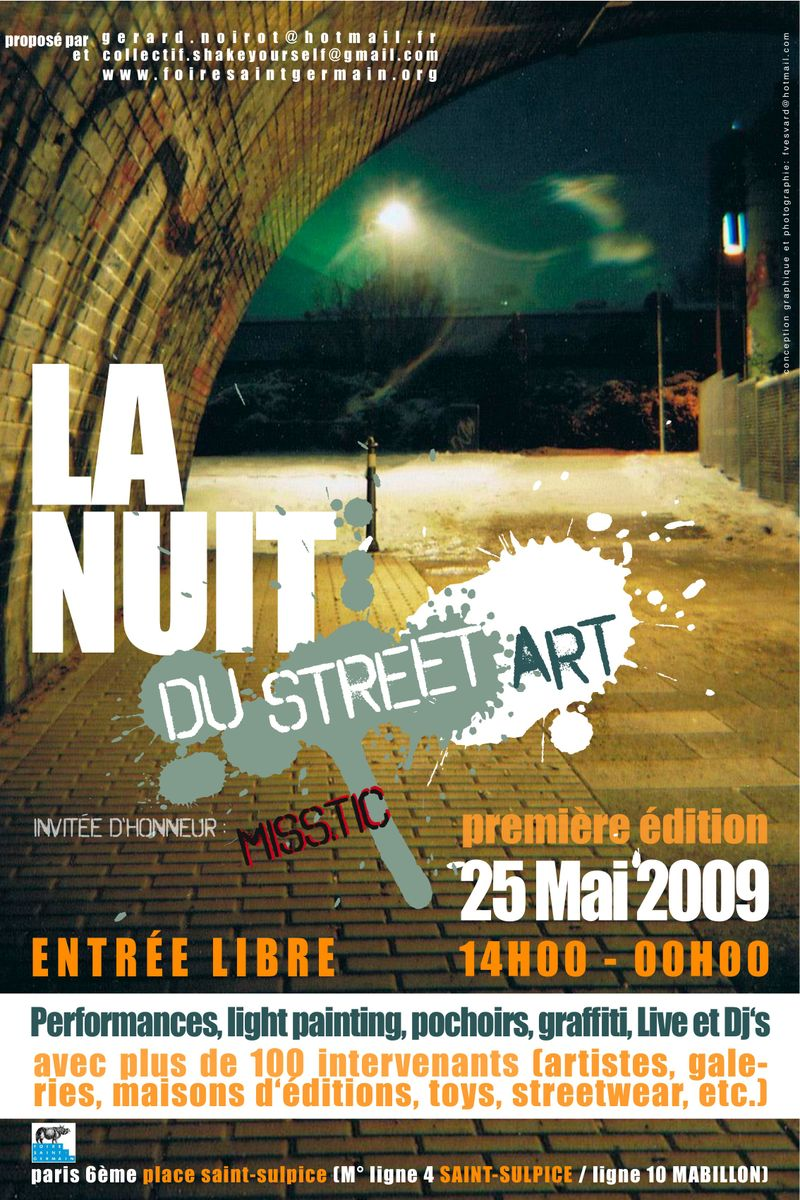 Affiche Nuit du Street Art