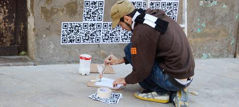 Qr-code-street-art