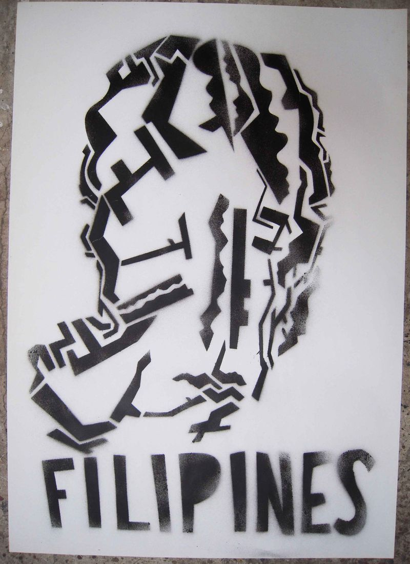 Pochoir - Filipines