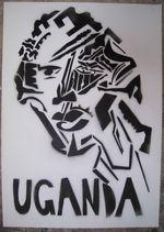 Pochoir - Uganda