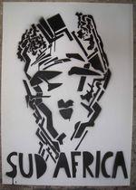 Pochoir - Sud Africa