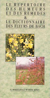 Dictionnaire des fleurs de bach