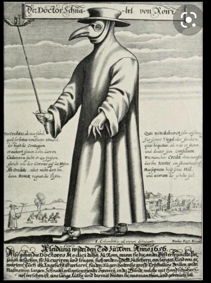 La peste en 1619 Paris