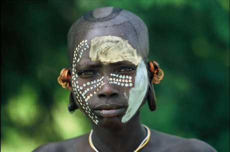 Body Painting Tribal